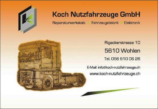 Koch Nutzfahrzeuge GmbH - Renaraturwerkstatt, Fahrzeugelektrik, Elektronik