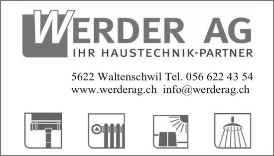Werder AG - Ihr Haustechnik-Partner