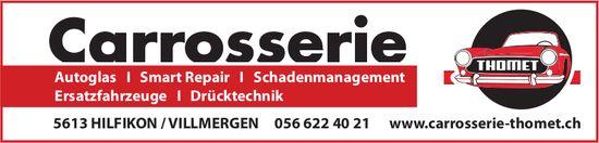 Carrosserie Thomet - Autoglas, Smart Repair, Schadenmanagement, usw.