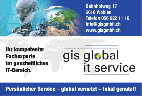 Gis Global It Service - Ihr kompetenter Fachexperte im ganzheitlichen IT-Bereich.