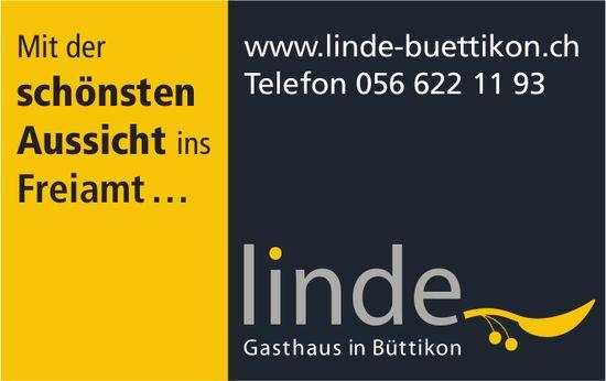 Linde Gasthaus in Büttikon - Mit der schönsten Aussicht ins Freiamt …