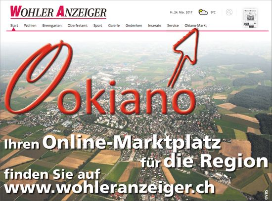 WA - Okiano, Ihren Online-Marktplatz für die Region