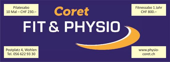 Coret FIT& PHYSIO