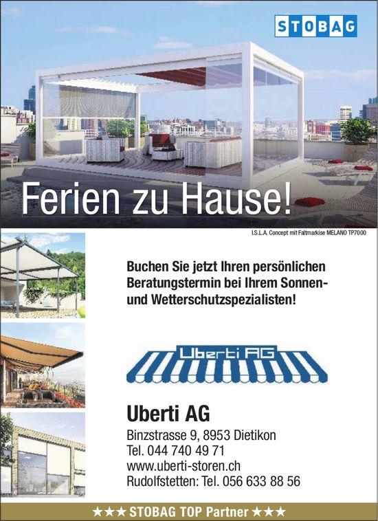 Uberti AG - Ferien zu Hause!