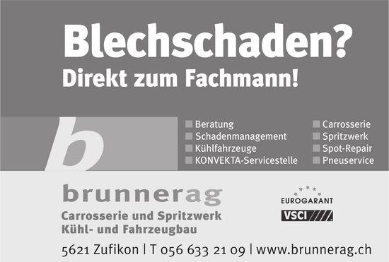 Brunner AG - Blechschaden? Direkt zum Fachmann!