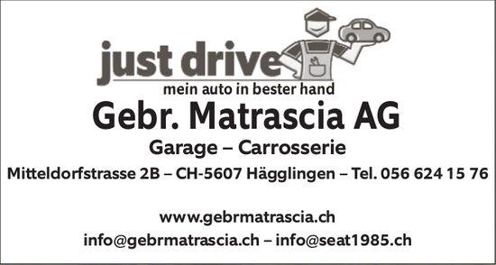 Gebr. Matrascia AG Garage - Carrosserie