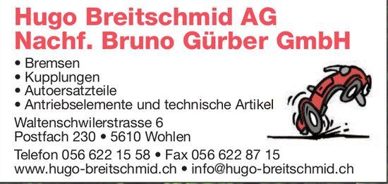 Hugo Breitschmid AG, Nachf., Bruno Gürber GmbH
