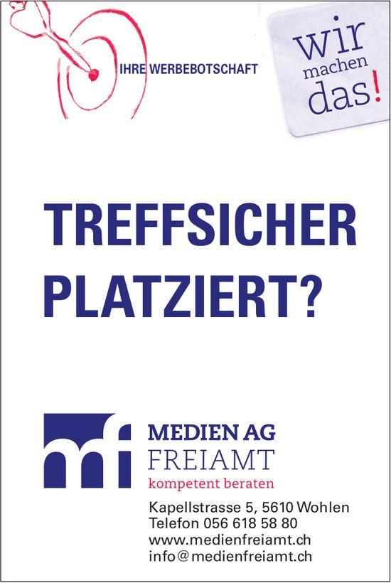 Medien AG Freiamt - Ihre Werbebotschaft