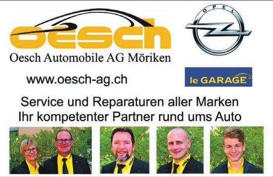 Oesch Automobile AG in Möriken - Service und Reparaturen aller Marken
