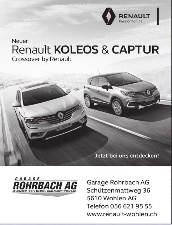 Garage Rohrbach AG in Wohlen