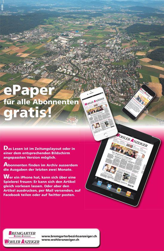 BBA/WA - ePaper für alle Abonnenten gratis!