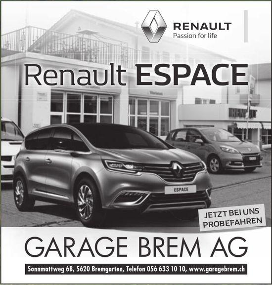 Garage Brem AG in Bremgarten