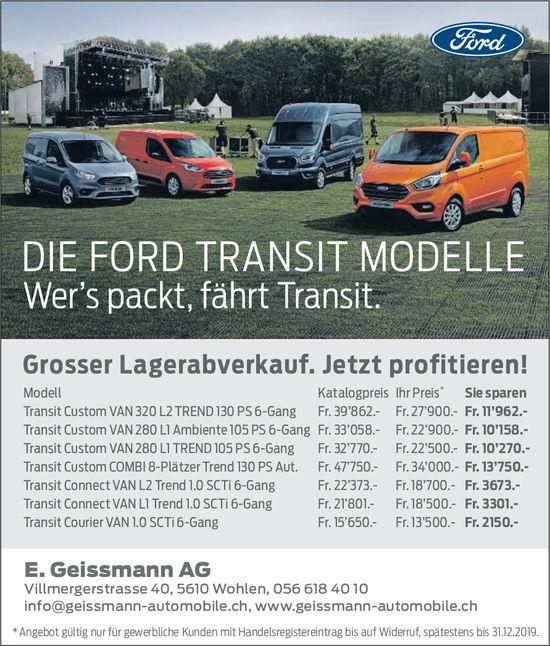 Geissmann AG Garage in Wohlen