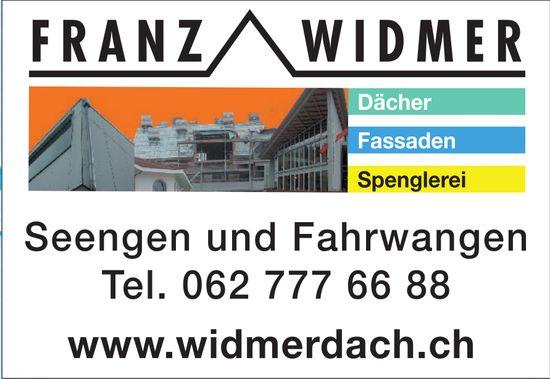 Franz Widmer Dächer, Fassaden und Spenglerei
