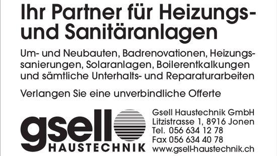 Gsell Haustechnik GmbH in Jonen