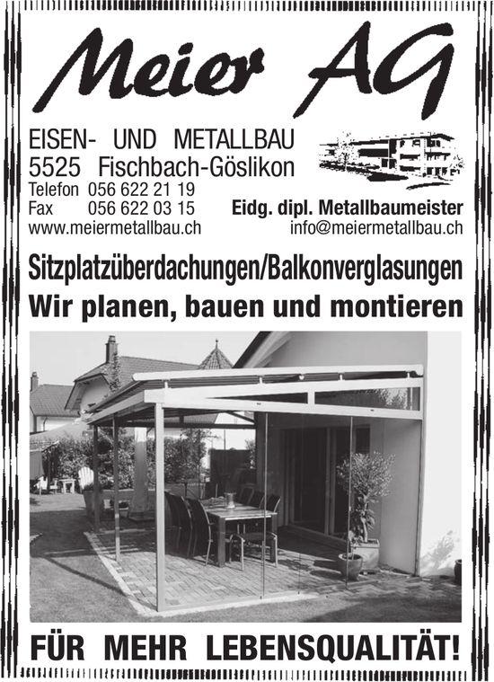 Eisen- und Metallbau Meier AG in Fischbach
