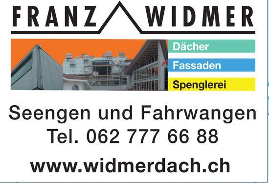 Franz Widmer Dächer und Fassaden in Seengen