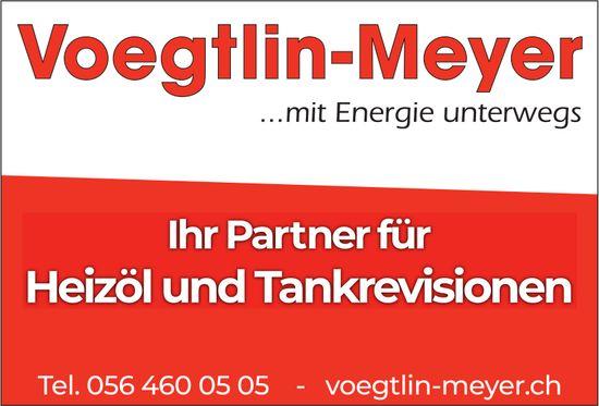 Voegtlin-Meyer - Ihr Partner für Heizöl und Tankrevisionen