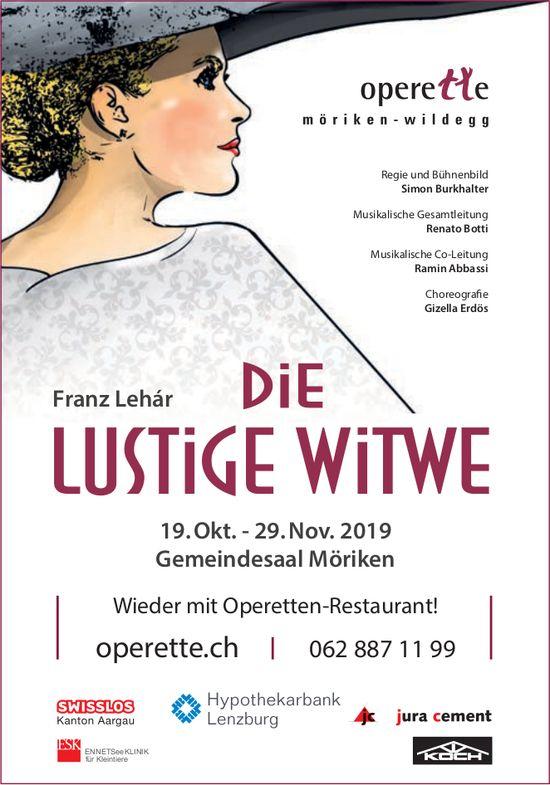 """""""Die lustige Witwe"""" - Operette Möriken"""