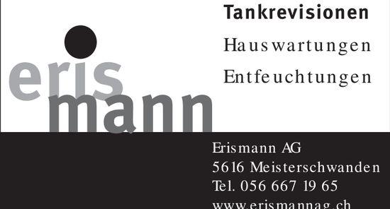 Erismann AG Tankrevisionen in Meisterschwanden