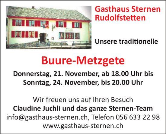 Gasthaus Sternen Rudolfstetten - Buure-Metzgete