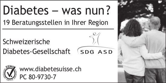 Schweizerisch Diabetes-Gesellschaft