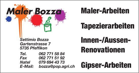 Maler Bozza, Pfeffikon - Maler-, Tapezier- & Gipser-Arbeiten, Innen-/Aussen-Renovationen