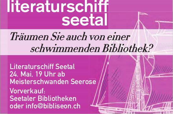 Literaturschiff Seetal, 24. Mai, Meisterschwanden Seerose