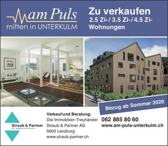 2.5- bis 4.5-Zimmer-Wohnungen, Unterkulm, zu verkaufen