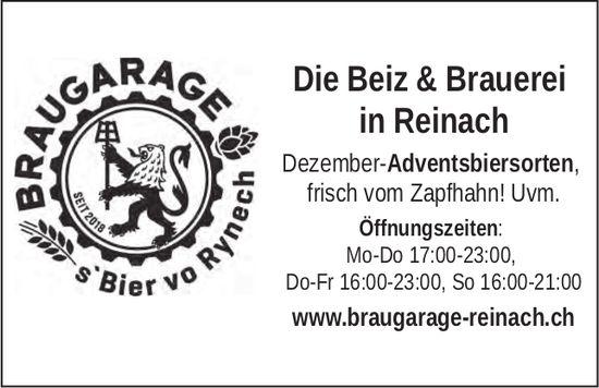 BRAUGARAGE - Die Beiz & Brauerei in Reinach