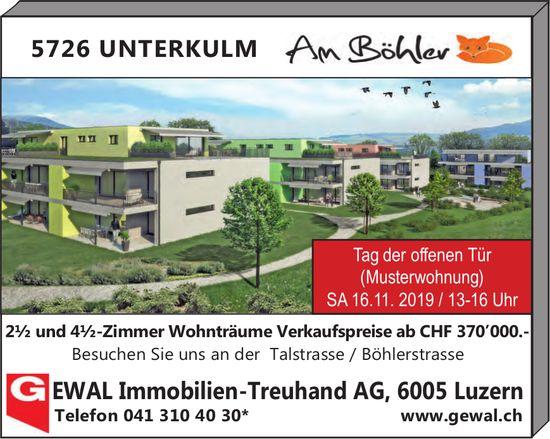 2.5- und 4.5-Zimmer Wohnträume, Am Böhler, Unterkulm, zu verkaufen