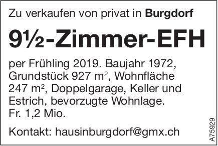 9.5-Zimmer-EFH, Burgdorf, zu verkaufen