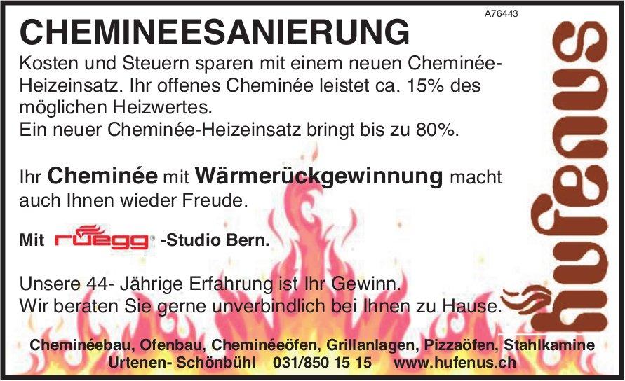 Hufenus - Ihr Cheminée mit Wärmerückgewinnung macht t auch Ihnen wieder Freude.