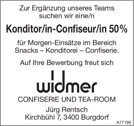 Konditor/in-Confiseur/in 50%, Widmer Confiserie & Tea-Room, Burgdorf, gesucht