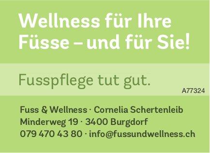 Fuss & Wellness, Burgdorf - Wellness für Ihre Füsse – und für Sie!