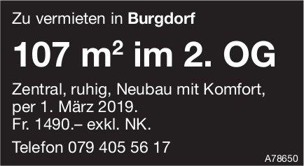 107 m², Burgdorf, zu vermieten