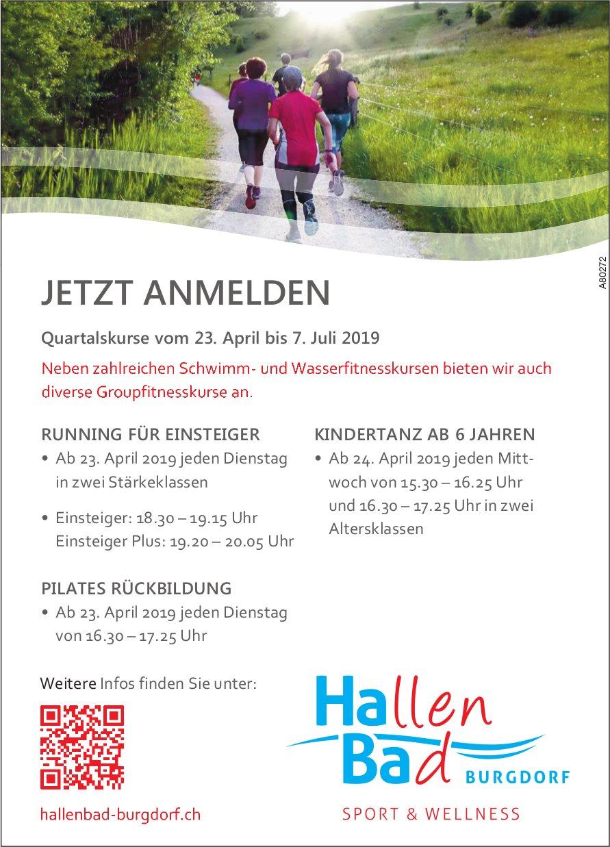 Hallen Bad, Burgdorf - JETZT ANMELDEN