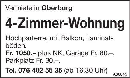 4-Zimmer-Wohnung, Oberburg, zu vermieten