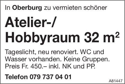 Atelier-/ Hobbyraum, Oberburg, zu vermieten