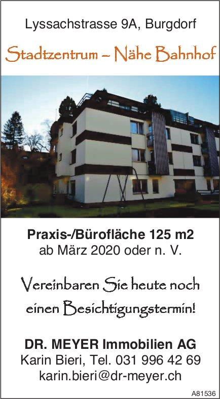 Praxis-/Bürofläche 125 m2, Stadtzentrum,  Nähe Bahnhof Burgdorf