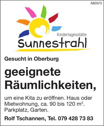 Geeignete Räumlichkeiten, Kindertagesstätte Sunnestrahl, Oberburg, gesucht