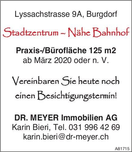 Praxis-/Bürofläche 125 m2, Burgdorf, zu vergeben