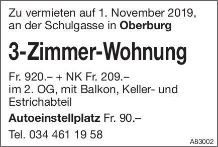 3-Zimmer-Wohnung, Oberburg, zu vermieten