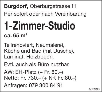 1-Zimmer-Studio, Burgdorf, zu vermieten