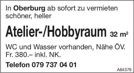 Atelier-/Hobbyraum 32 m2 in Oberburg zu vermieten