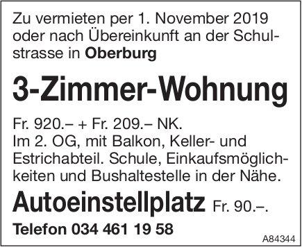 3-Zimmer-Wohnung in Oberburg zu vermieten