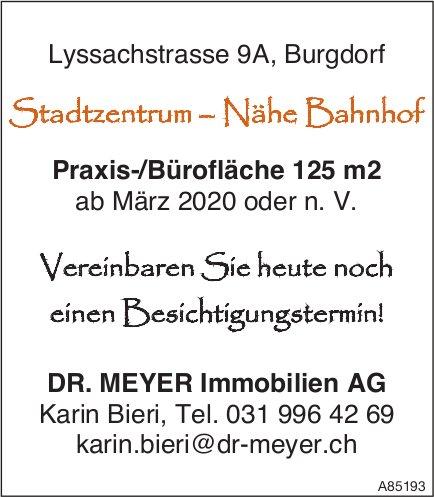 Praxis-/Bürofläche 125 m2, Burgdorf, zu vermieten
