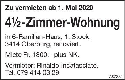 4.5-Zimmer-Wohnung, Oberburg, zu vermieten