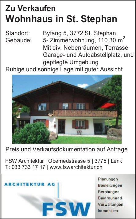 Wohnhaus in St. Stephan zu verkaufen