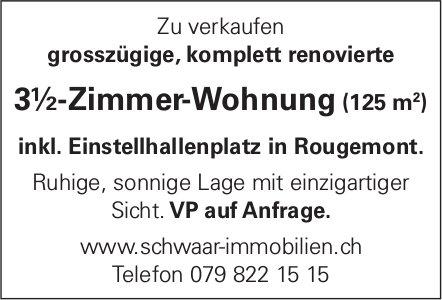 3½-Zimmer-Wohnung (125 m²) in Rougemont zu verkaufen